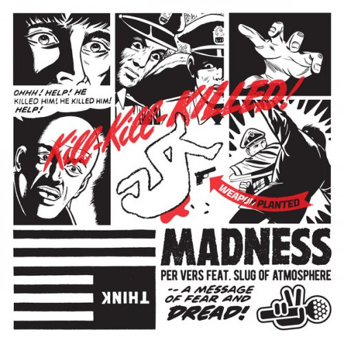 """Per Vers - Madness, 10"""", EP, Stereo"""
