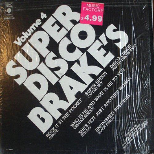 Various - Super Disco Brake's Volume Four, LP