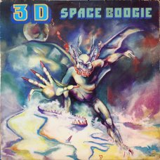 "3D - Space Boogie, 12"", 33 ⅓ RPM"