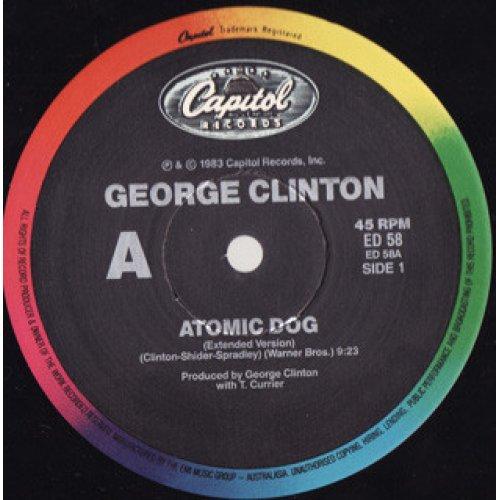 "George Clinton - Atomic Dog, 12"""