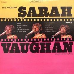 Sarah Vaughan - The Fabulous Sarah Vaughan, LP