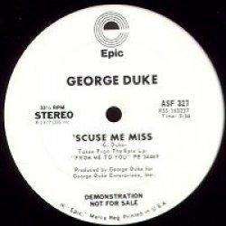 """George Duke - You And Me / 'Scuse Me Miss, 12"""", Promo"""
