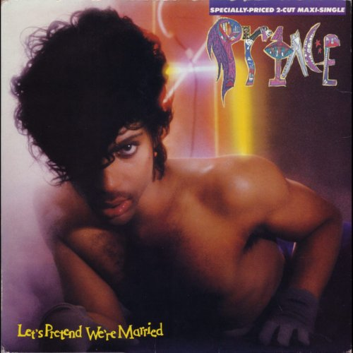 """Prince - Let's Pretend We're Married, 12"""", Reissue"""