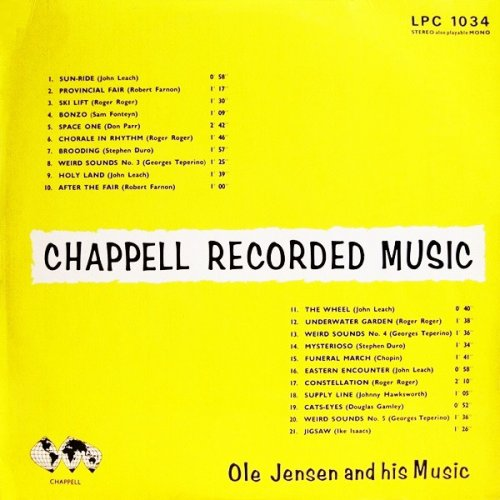 Ole Jensen And His Music - Chappell Recorded Music, LP