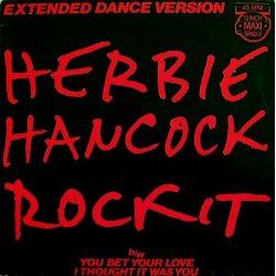 "Herbie Hancock - Rockit (Extended Dance Version), 12"""