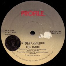"The Rake - Street Justice, 12"""