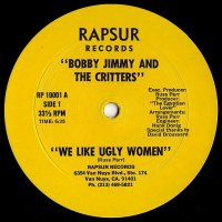 """Bobby Jimmy And The Critters - We Like Ugly Women, 12"""", Reissue"""