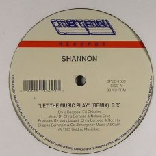 "Shannon - Let The Music Play (Remix), 12"", Reissue"