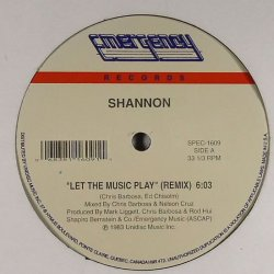 """Shannon - Let The Music Play (Remix), 12"""", Reissue"""
