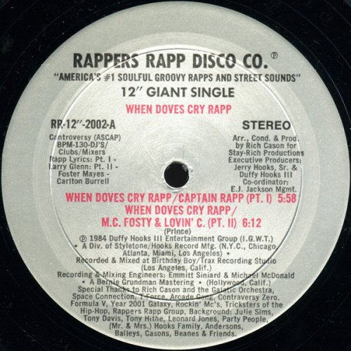 """Various - When Doves Cry Rapp, 12"""""""