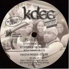"K-Dee - Hittin' Corners / The Hand That Rocks The Cradle, 12"", Promo"