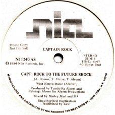 "Captain Rock - Capt. Rock To The Future Shock, 12"", Promo"
