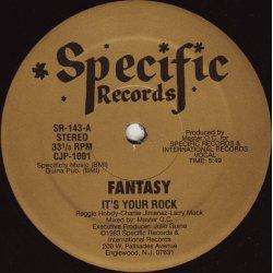 "Fantasy - It's Your Rock, 12"", Reissue"