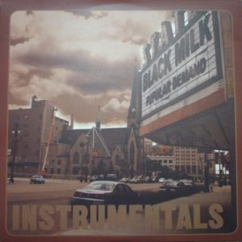 Black Milk - Popular Demand (Instrumentals) / Broken Wax (Instrumentals), 2xLP