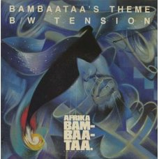 "Afrika Bambaataa & Family - Bambaataa's Theme (Assault On Precinct 13) / Tension, 12"", Promo"