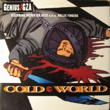 "Genius / GZA - Cold World, 12"", Promo"