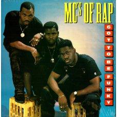 MC's Of Rap - Got To Be Funky, LP