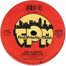 """The Alliance - Bustin' Loose, 12"""""""