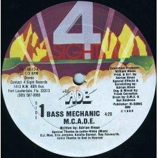 """M.C.A.D.E. - Bass Mechanic, 12"""", Reissue"""