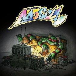 """Marvelous Mosell - Dansk Ninja Turtles Rap / Jeg Var Blevet Syg Og Ku' Li' Det, 7"""", Reissue"""