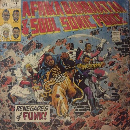 "Afrika Bambaataa & Soulsonic Force - Renegades Of Funk!, 12"""