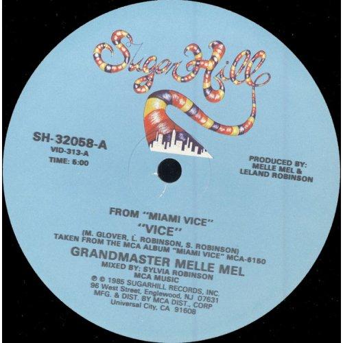"Grandmaster Melle Mel - Vice, 12"""