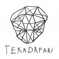 TEKKDAFARI - TEKKDAFARI, LP (Hvid med sort swirl)
