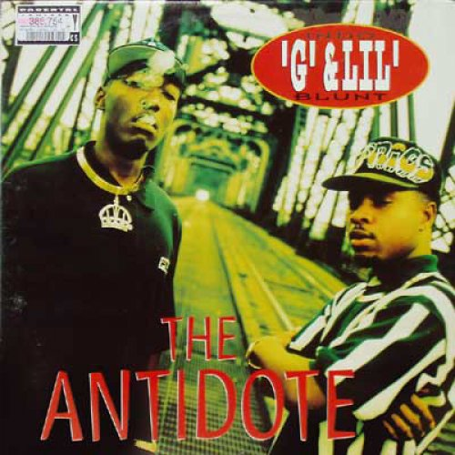 Indo G & Lil' Blunt - The Antidote, LP, Promo