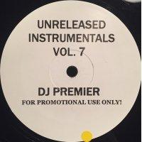 DJ Premier - Unreleased Instrumentals Vol. 7, LP