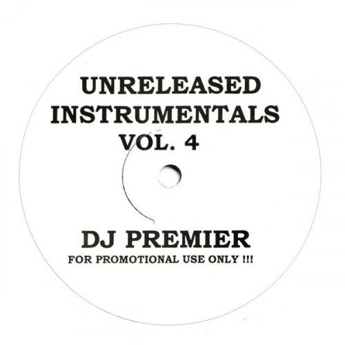 DJ Premier - Unreleased Instrumentals Vol. 4, LP