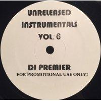 DJ Premier - Unreleased Instrumentals Vol. 6, LP