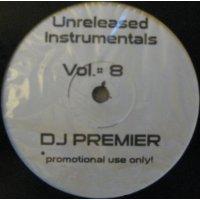 DJ Premier - Unreleased Instrumentals Vol. 8, LP