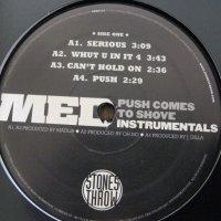 MED - Push Comes To Shove (Instrumentals), 2xLP