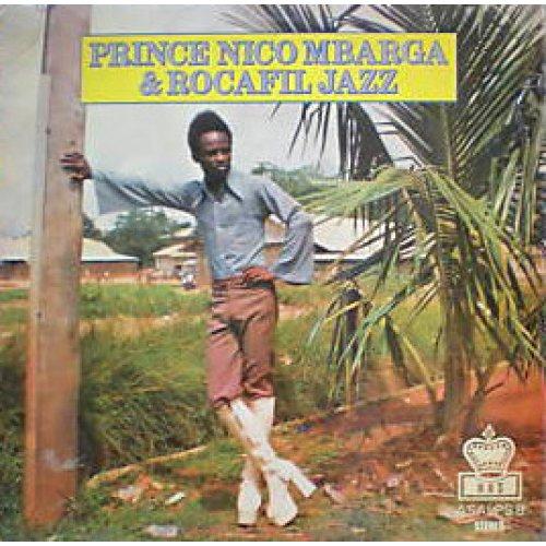 Prince Nico Mbarga & Rocafil Jazz - Prince Nico Mbarga & Rocafil Jazz, LP