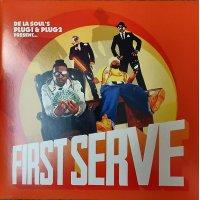De La Soul 's Plug 1 & Plug 2 Present... First Serve - First Serve, 2xLP