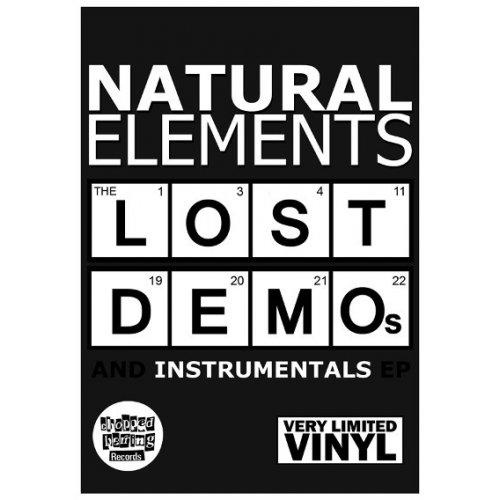 """Natural Elements - Lost Demos And Instrumentals EP, 12"""", EP"""
