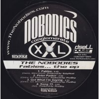 """The Nobodies - Fables...The Ep, 12"""", EP"""