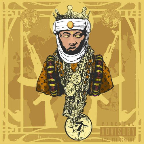 Planet Asia - A.G.E. (All Gold Everything), LP