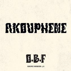 "O.B.F. - Signz Series #1 - Akouphene, 12"""
