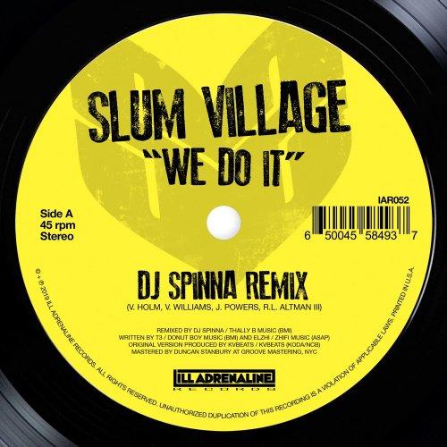 """Slum Village - We Do It, 7"""""""