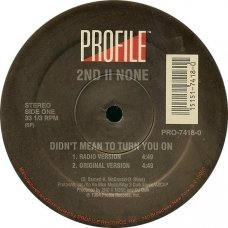 """2nd II None - Didn't Mean To Turn You On, 12"""""""