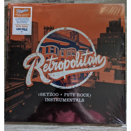 Skyzoo + Pete Rock - Retropolitan (Instrumentals), LP (RSD2020)