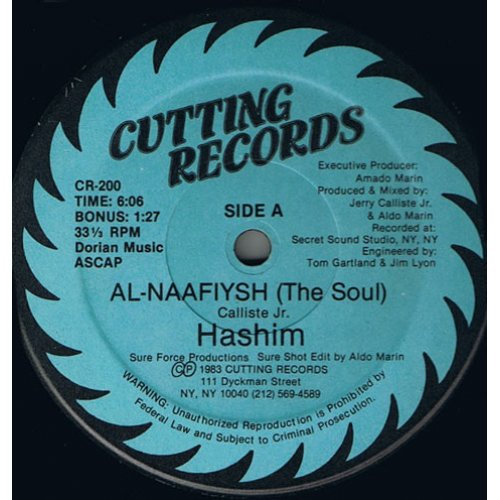 "Hashim - Al-Naafiysh (The Soul), 12"""