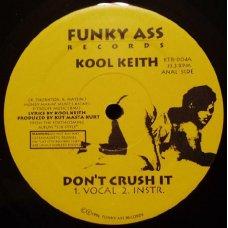 "Kool Keith - Don't Crush It / Sex Style, 12"""