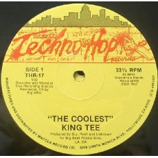 """King Tee / King Tee And Mixmaster Spade With The Compton Posse - The Coolest / Ya Better Bring A Gun, 12"""""""