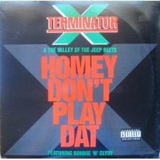 "Terminator X - Homey Don't Play Dat, 12"""