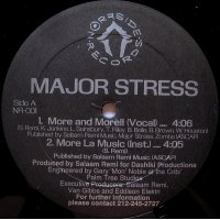 """Major Stress - More And More / A Day In Da Stuy, 12"""""""