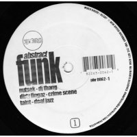 """Various - Abstract Funk, 12"""", EP"""