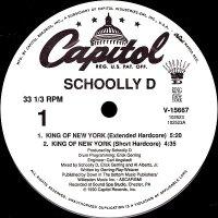 "Schoolly D - King Of New York, 12"""