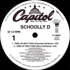 Schoolly D - King Of New York, 12""